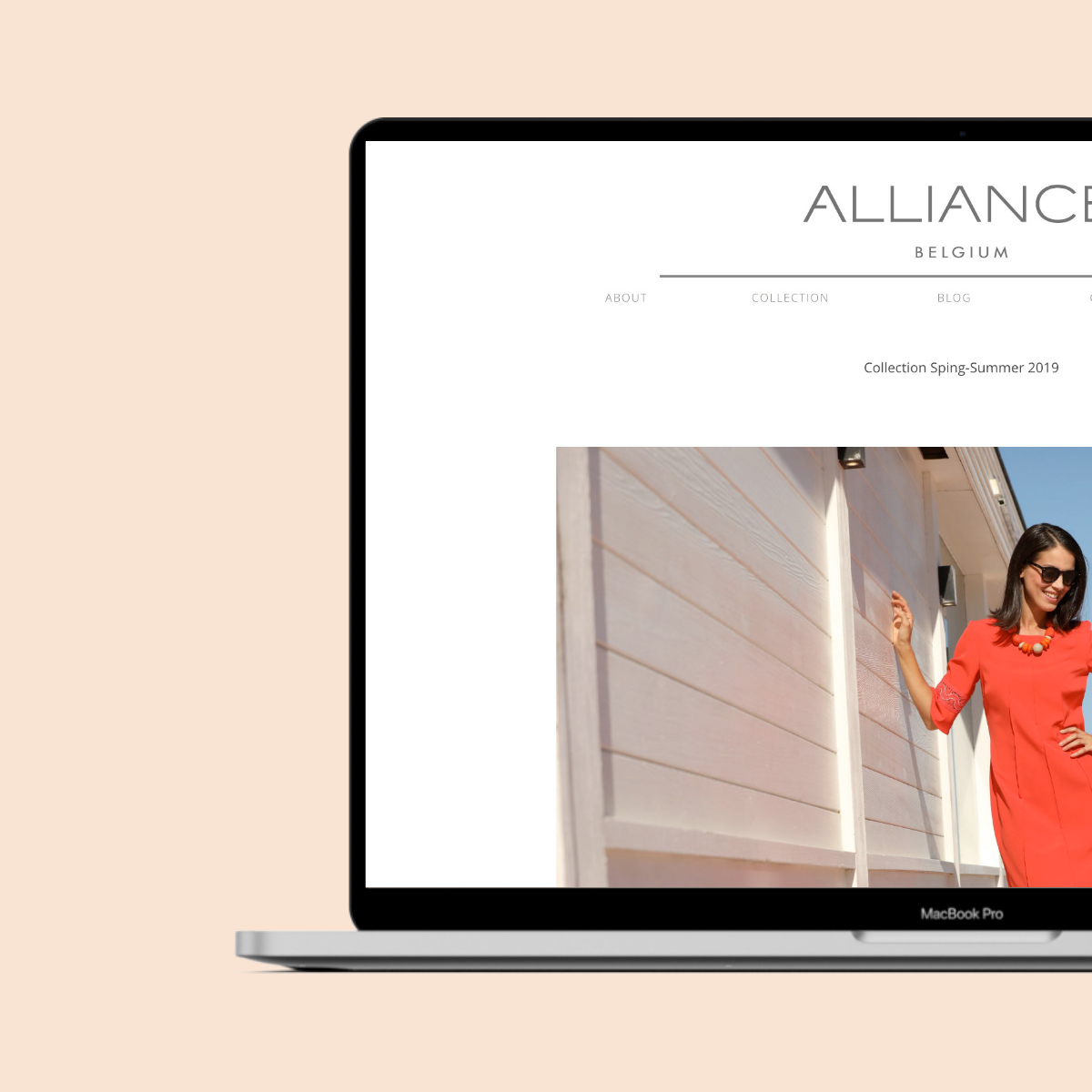 Alliance Fashion website