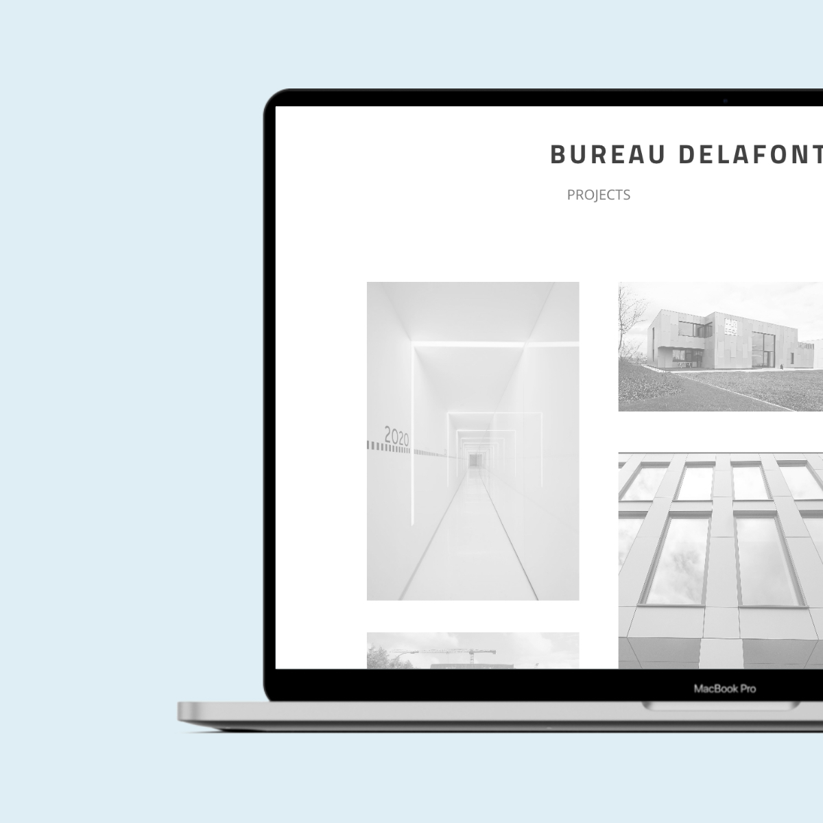 Bureau Delafontaine website