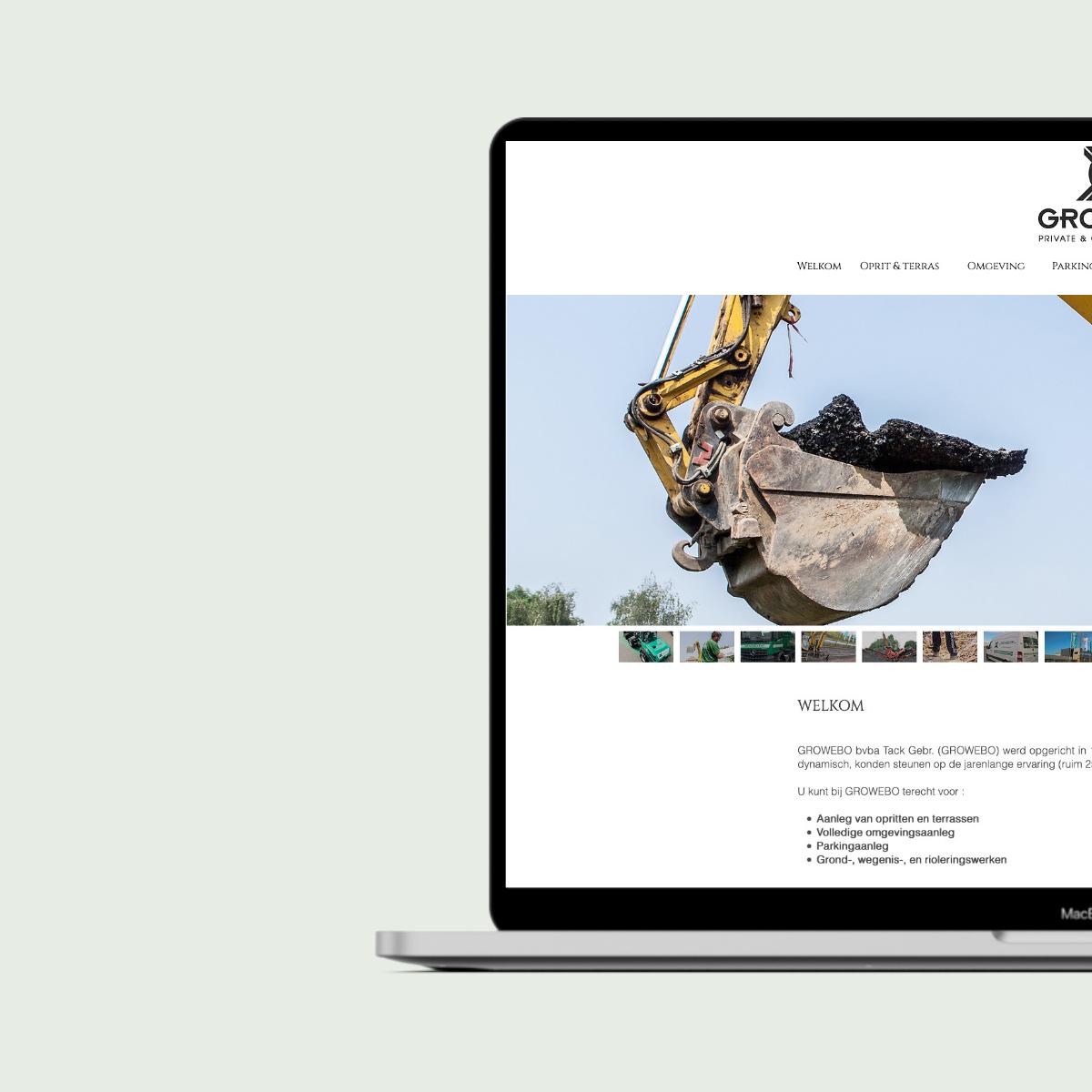 Website voor Growebo