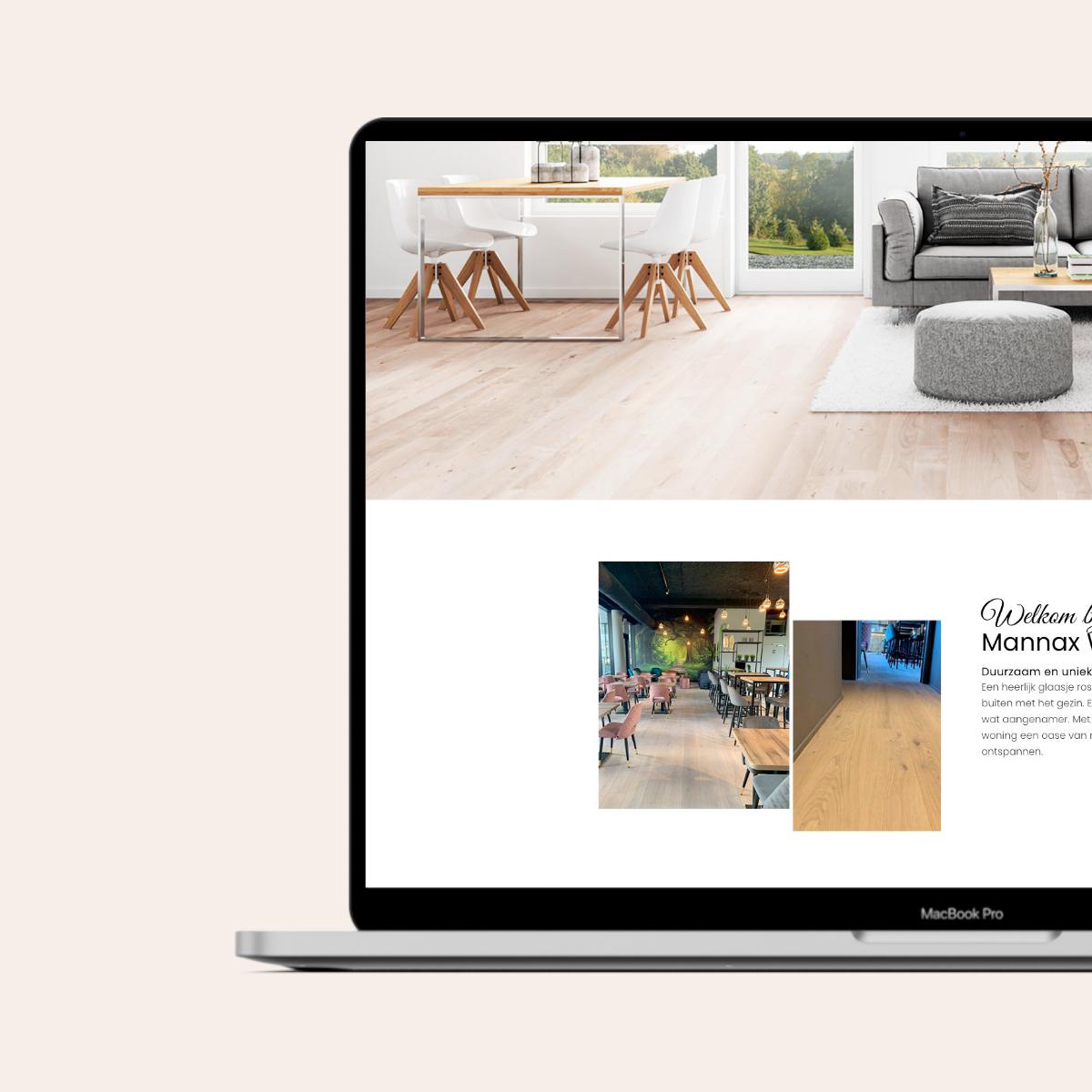 Website voor Mannax