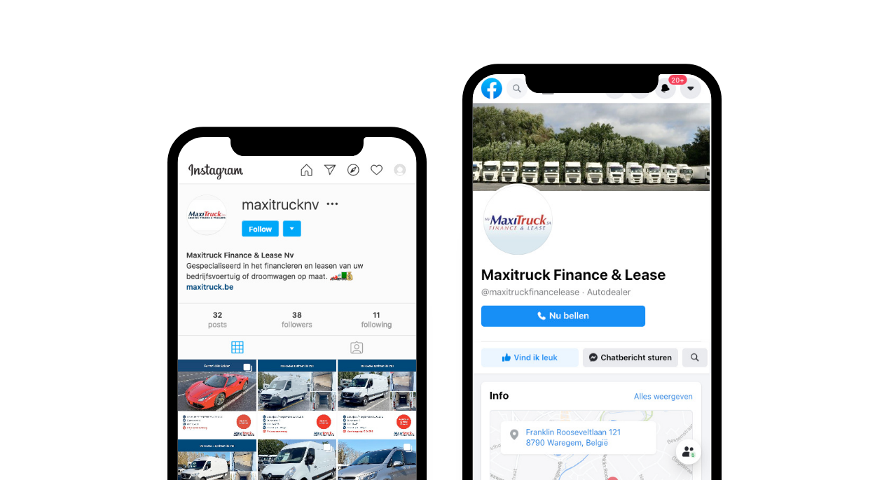 Social mediabeheer voor Maxitruck