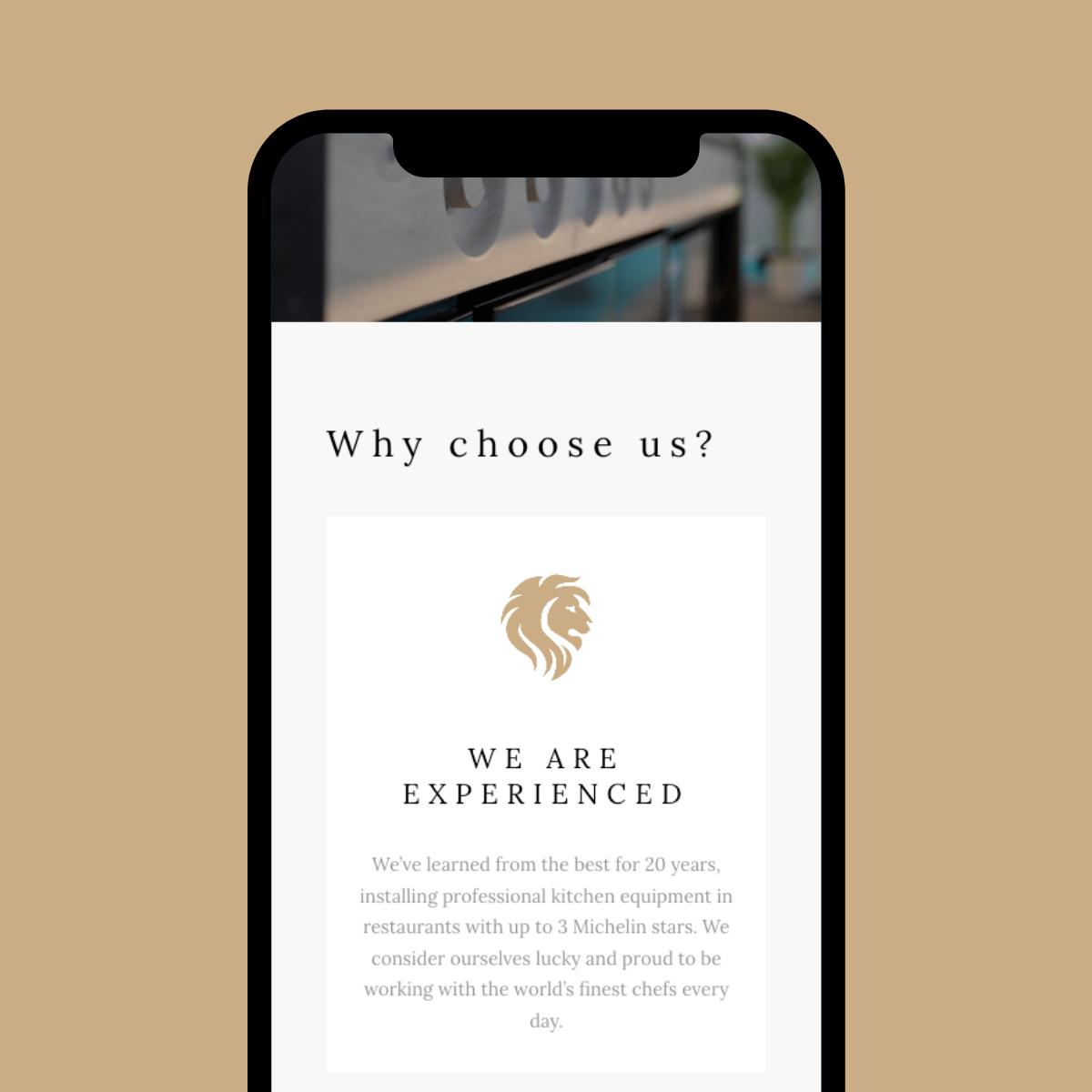 Responsive Website ontwerp voor Miikitco