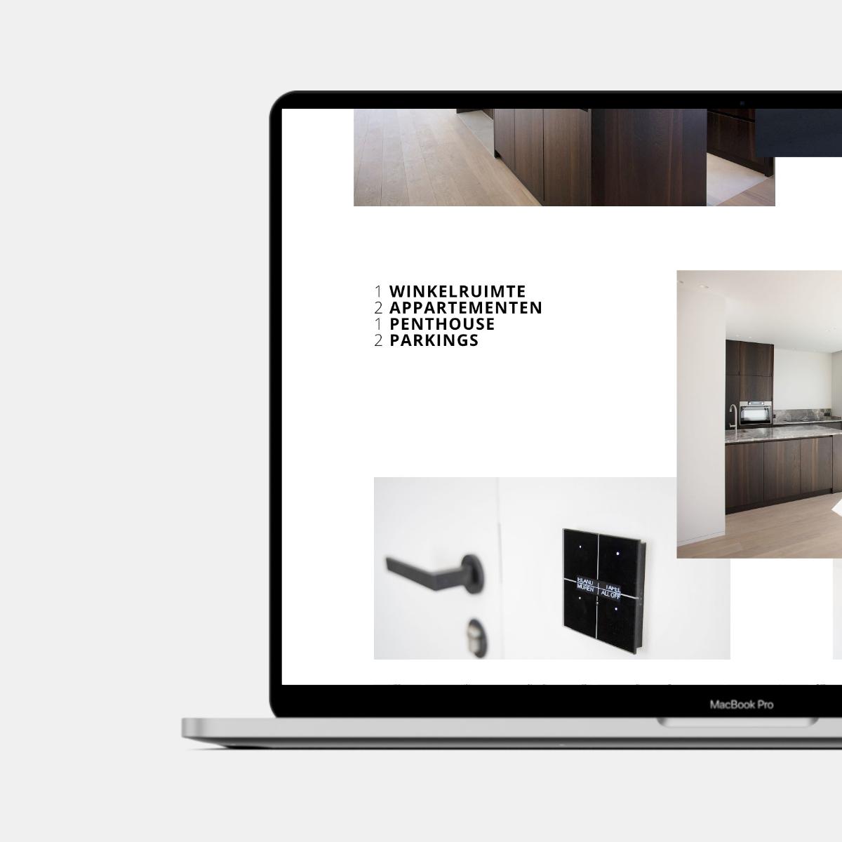 Website Residentie Number Eight