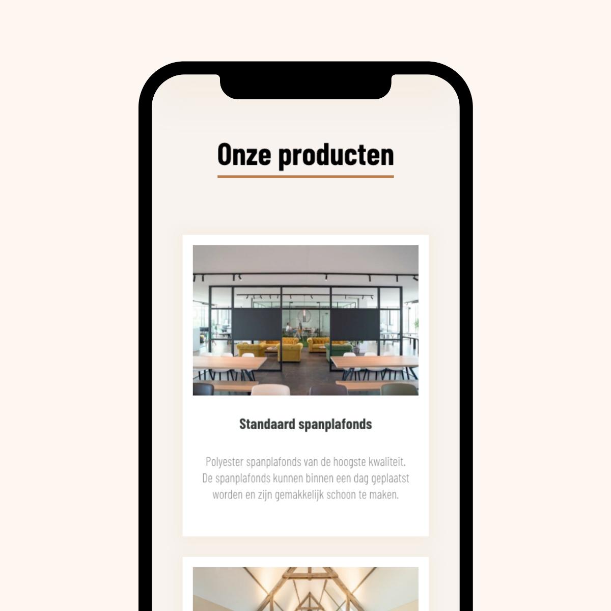 Responsive webdesign voor Spanorama