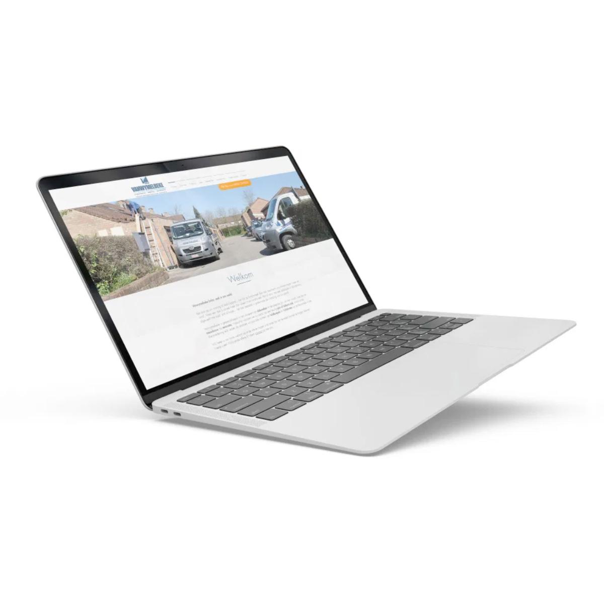 Dakwerken Vanwymelbeke website