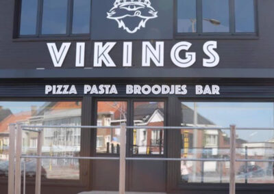 Vikings pizza en pasta