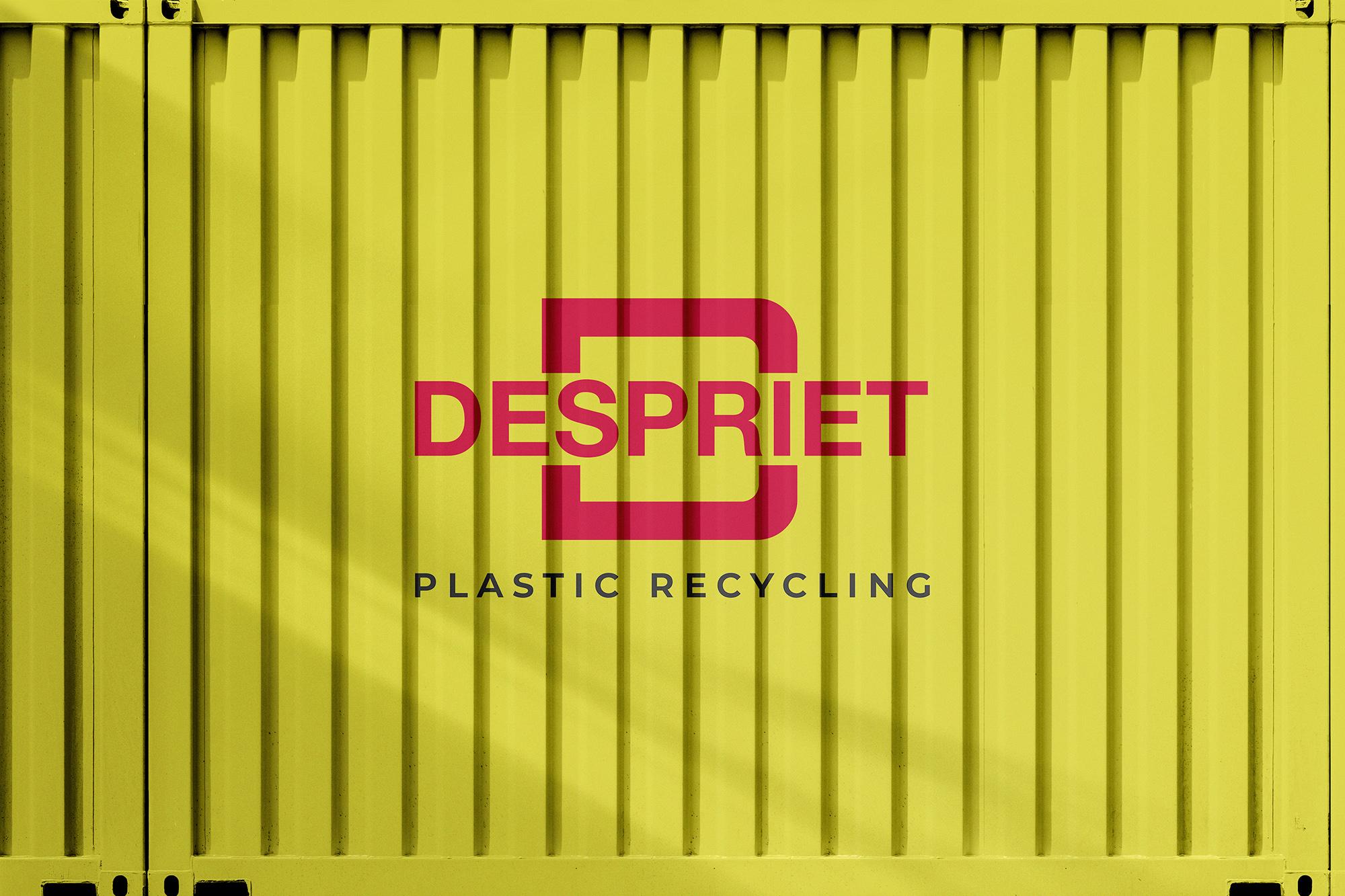 Logo ontwerp voor Despriet Recycling