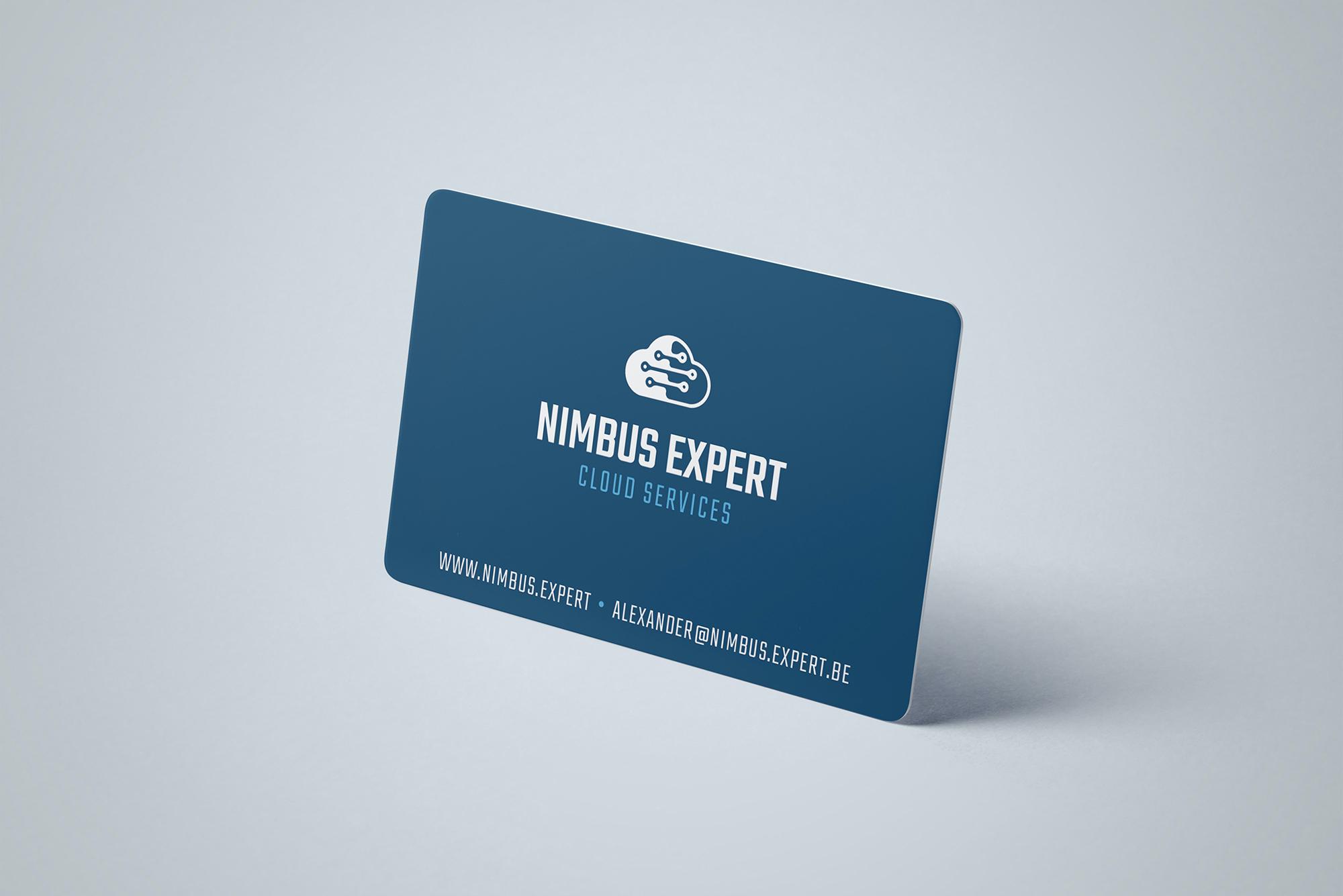 Visitekaartje ontwerp voor Nimbus.Expert