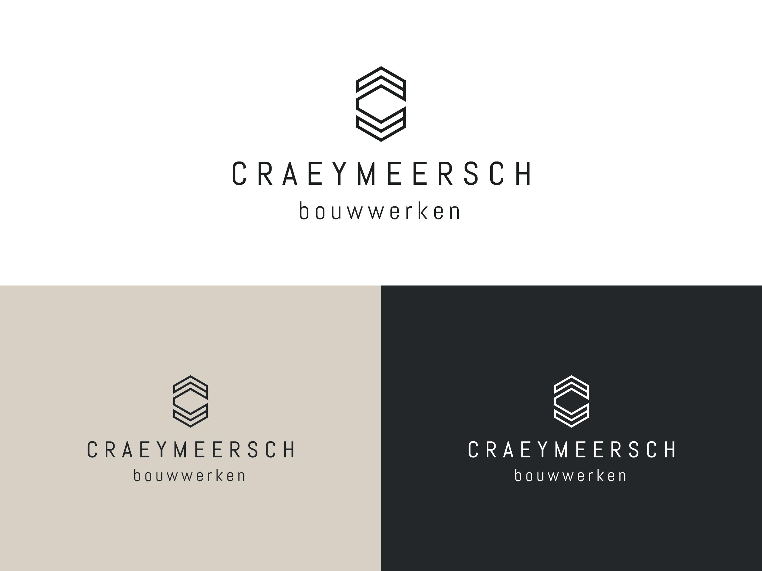 Craeymeersch logo ontwerp
