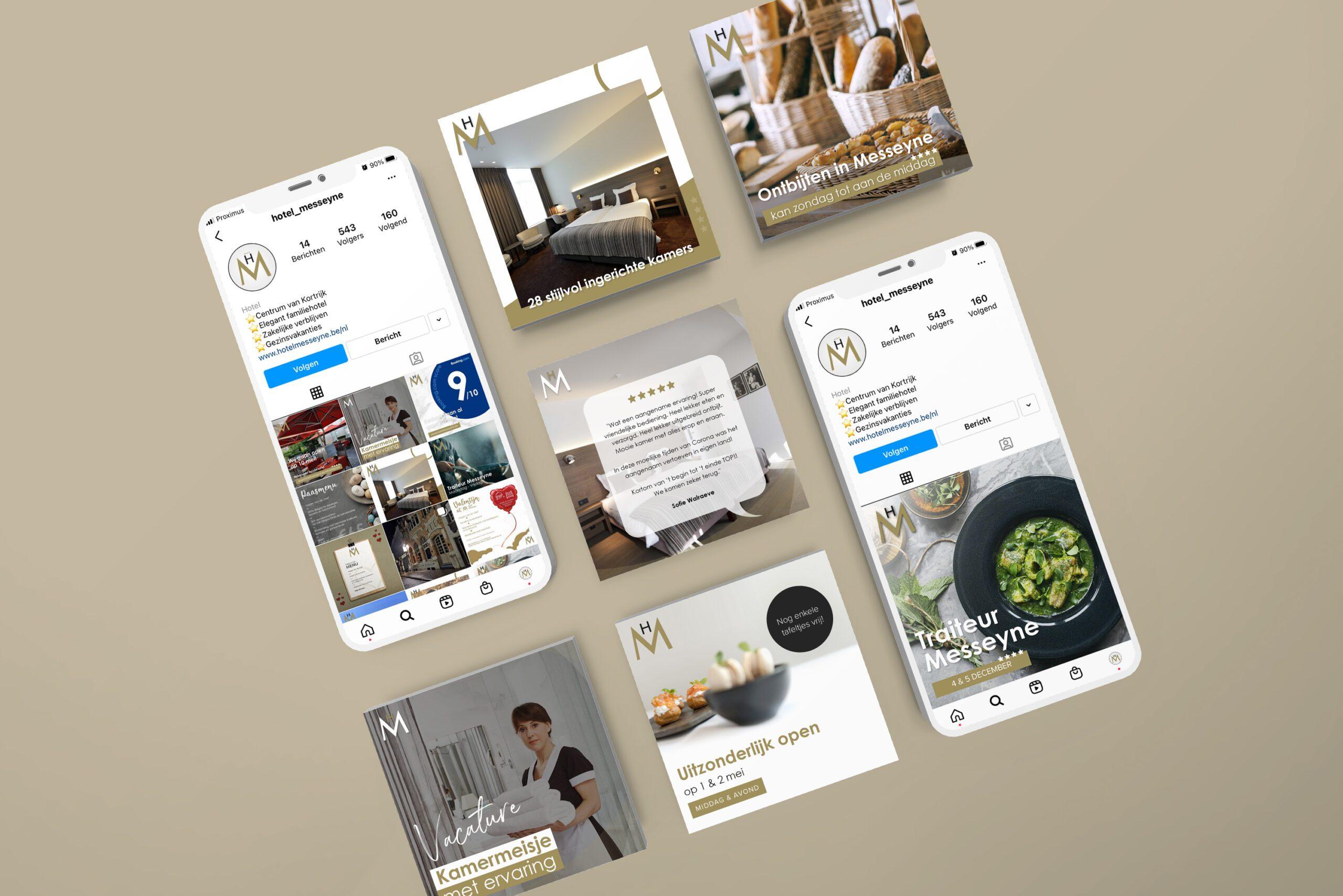 Hotel Messeyne | Sociale media Kortrijk | Bureau voor sociale media