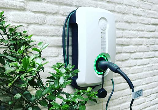 Elektrische lader foto