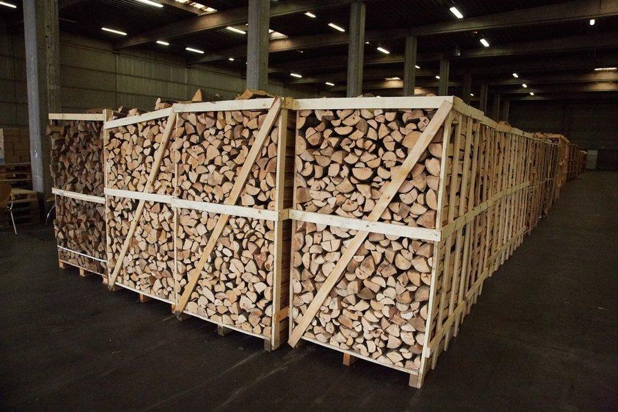 Voorraad van brandhout
