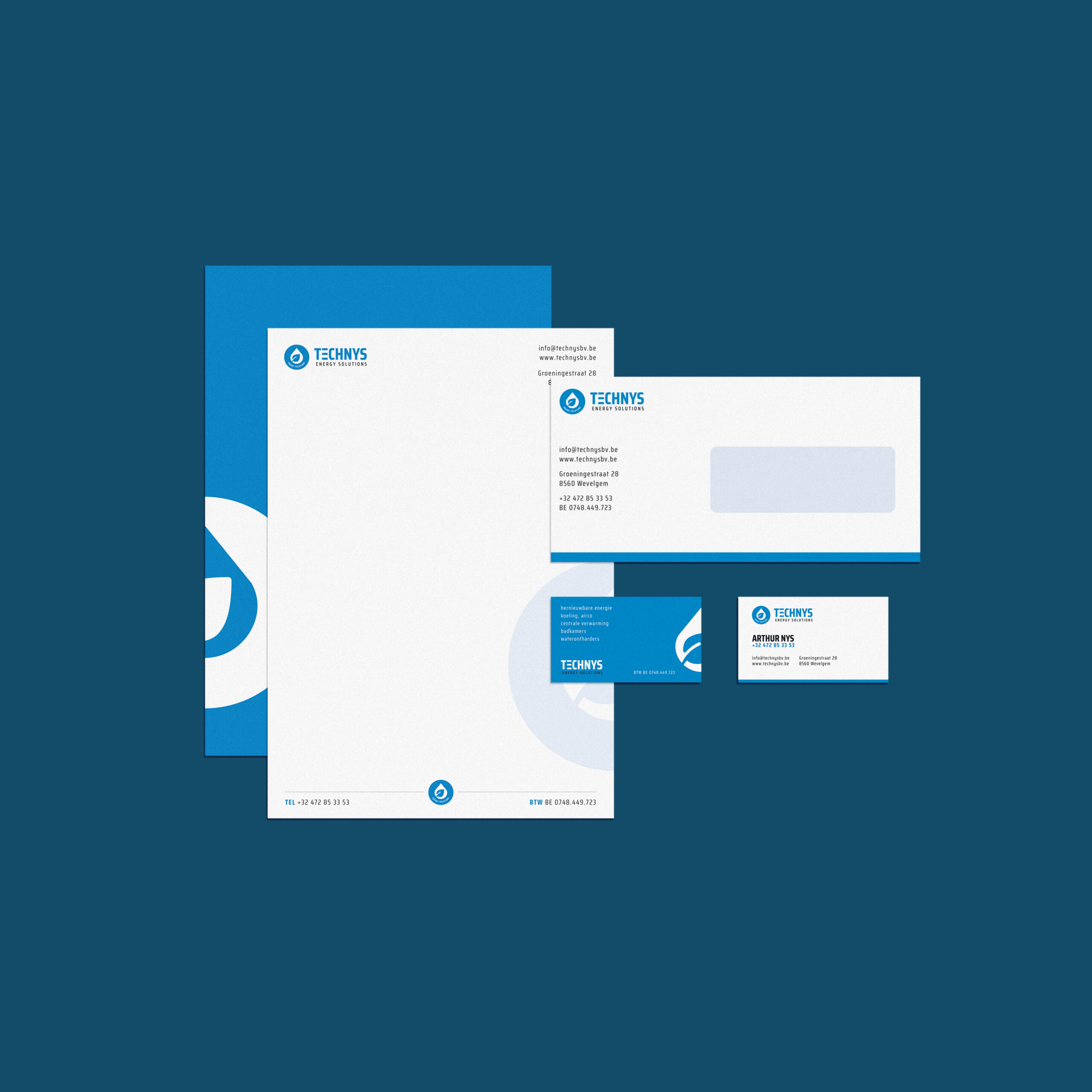 Huisstijl ontwerp voor TechNys