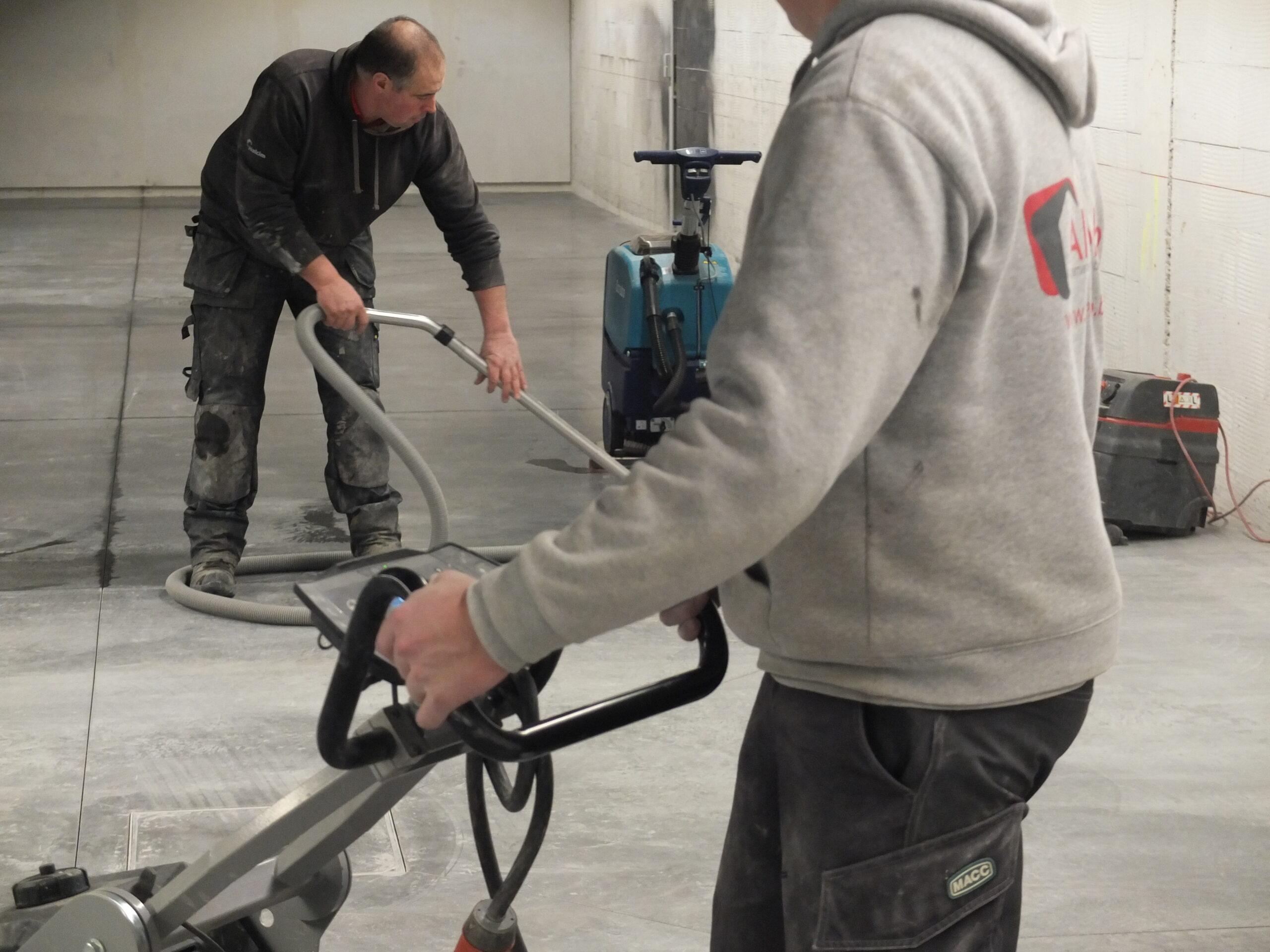 Alverbo gepolierde beton