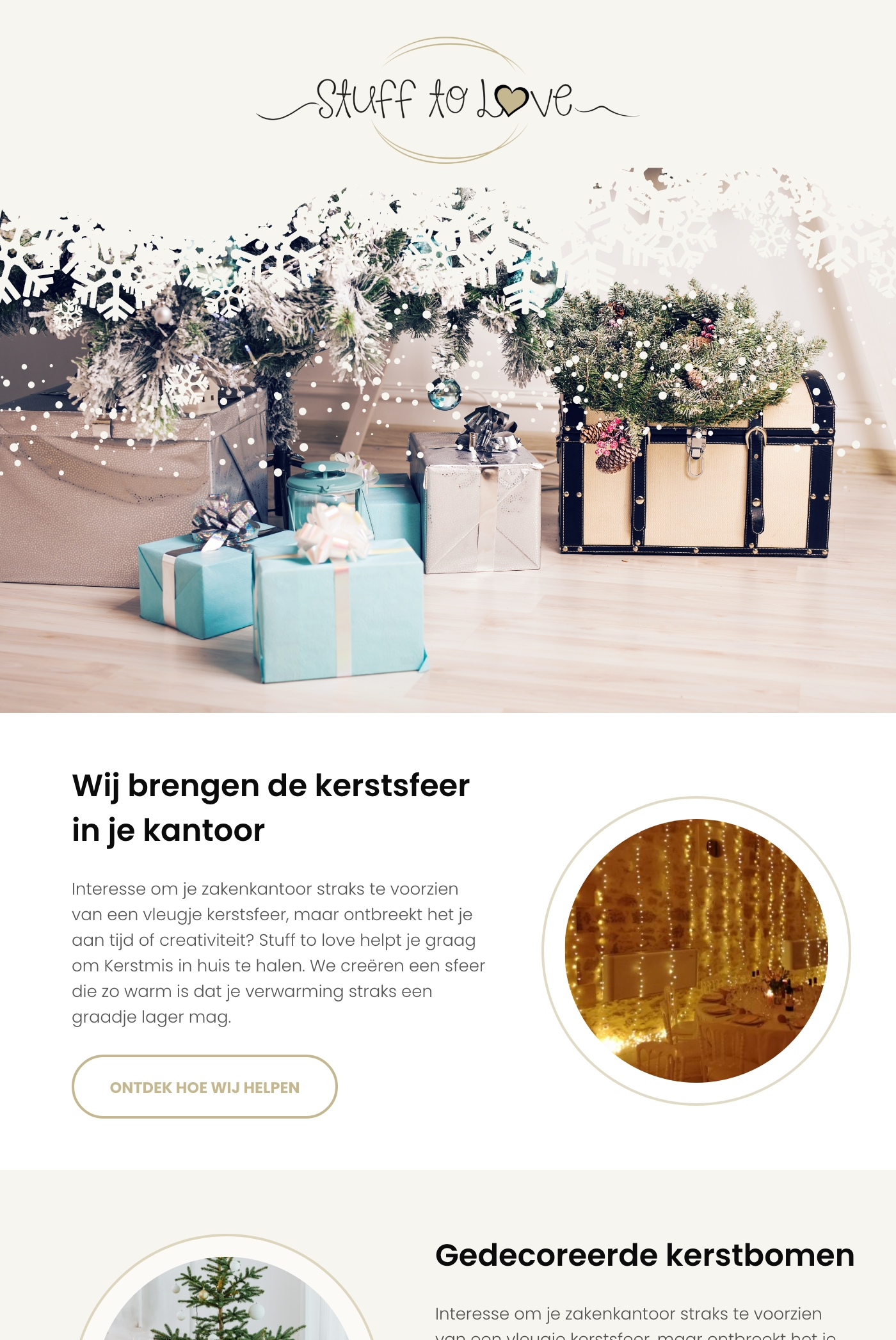 Mailing campagne voor Stuff to love